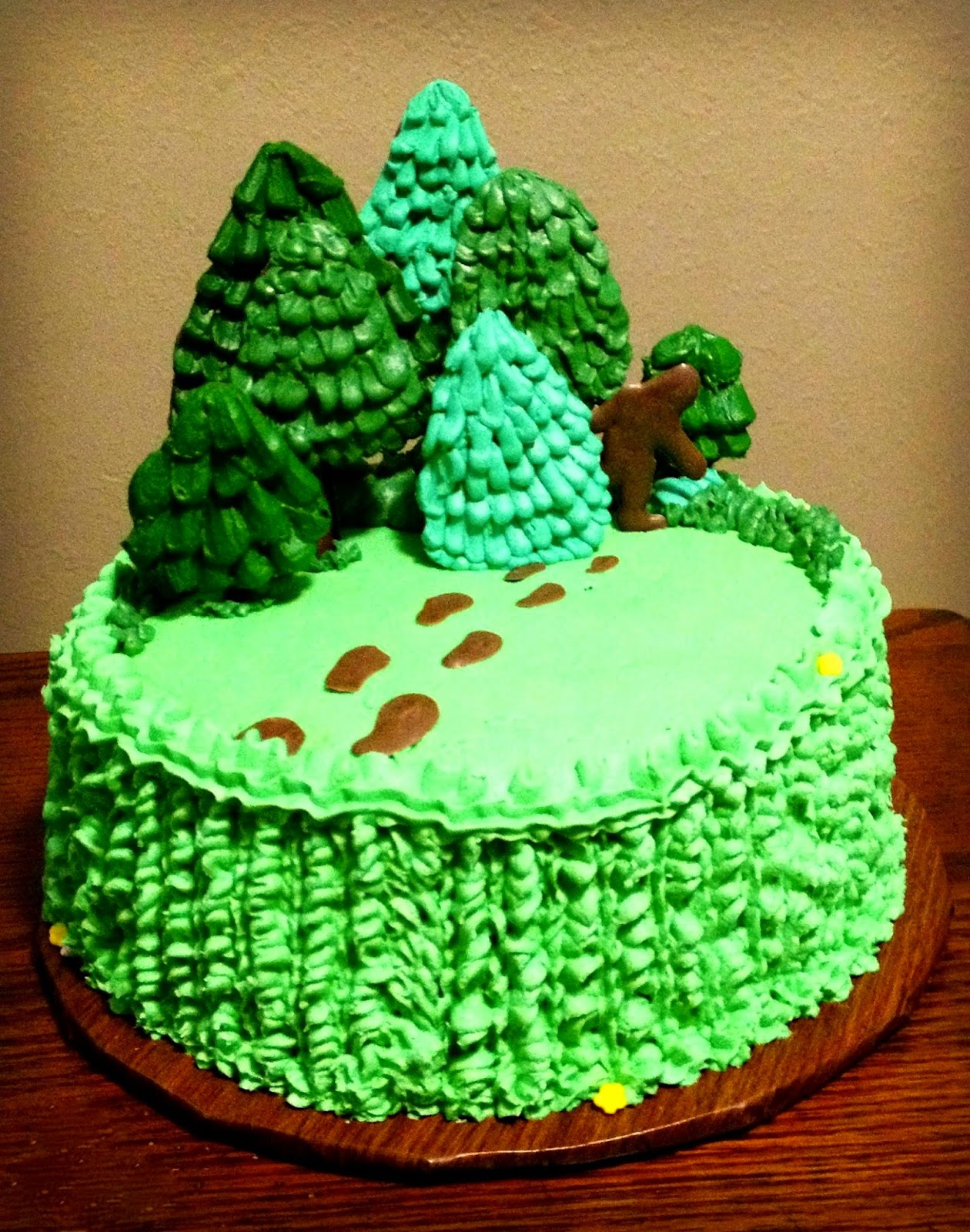 Bigfoot Cake Images : Cakes by Lynell