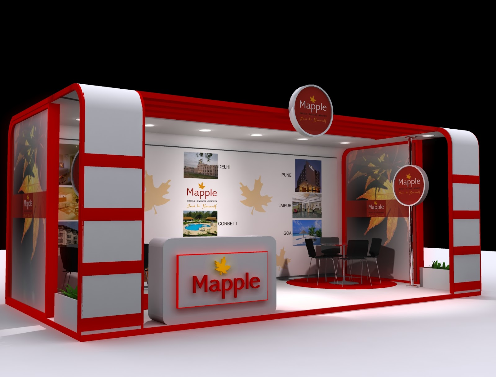 Creative Exhibition Stall Design : Rahul creative designer exhibition stall design