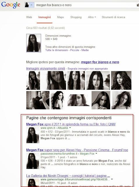 Come cercare foto simili con google immagini informatica for Ricerca per immagini google