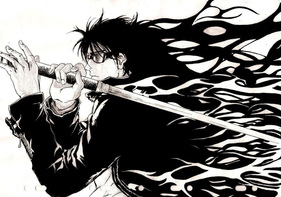 Badass Anime Character Design : Badass character catalog mamoru hijikata blerds online