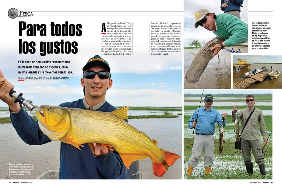 Nota Revista Weekend Diciembre 2015