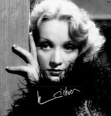 Marlene Dietrich  Tendencias de 1930