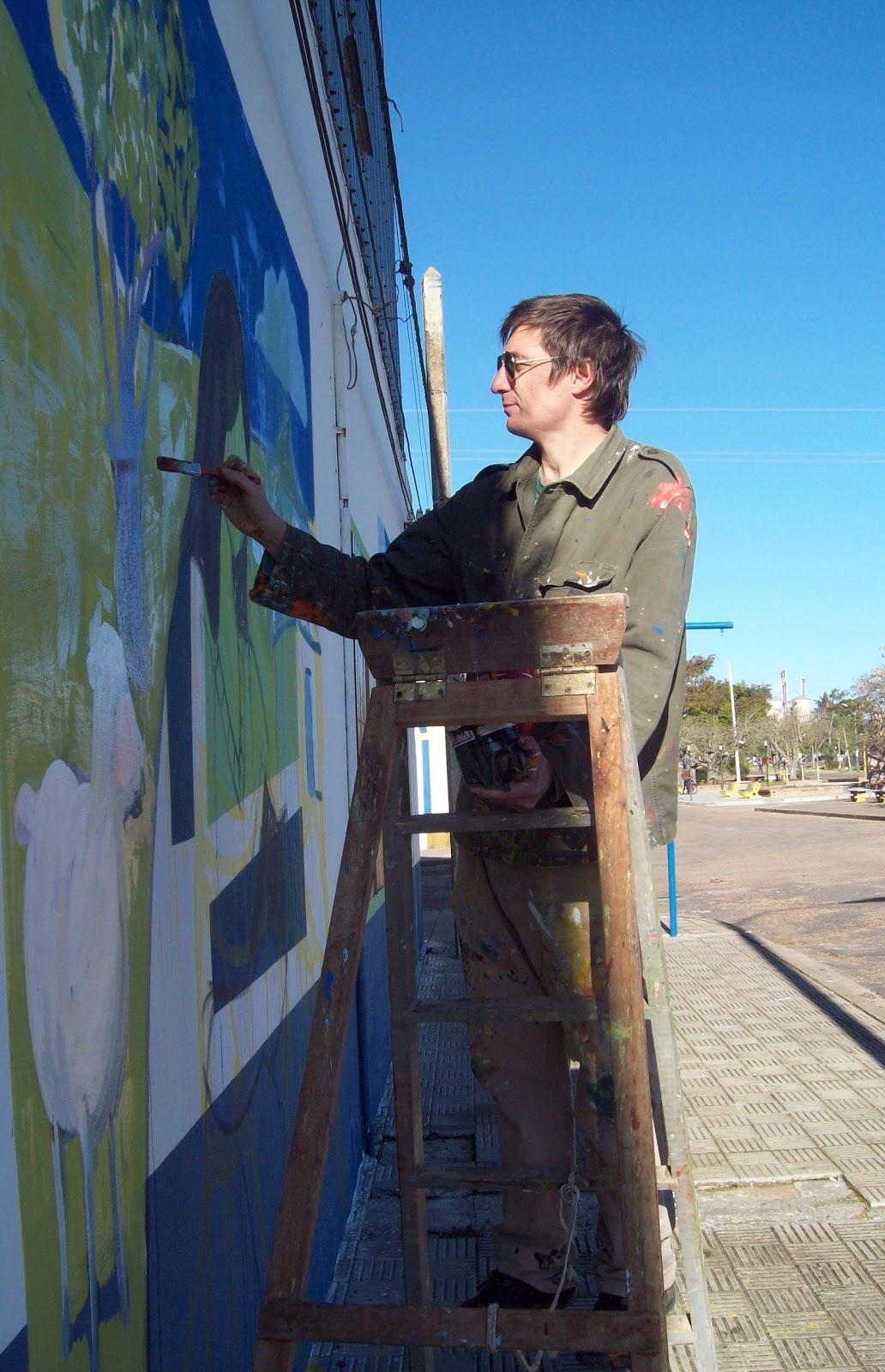 Hum bral sobre la pintura mural for Cuanto cobrar por pintar un mural