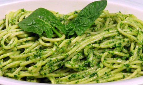 Recipe: Pasta with Spinach Pesto | UAB Windows into Wellness