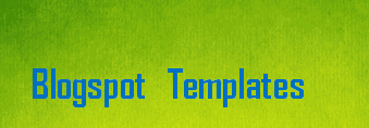 Free Blogspot Templates, Layouts and Backgrounds - Blogger Templates