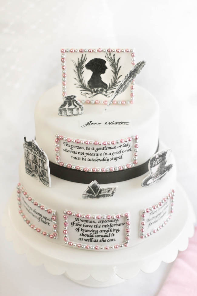 A Birthday Cake For Jane Austen Twelfth Night Cake Sprinkle Bakes