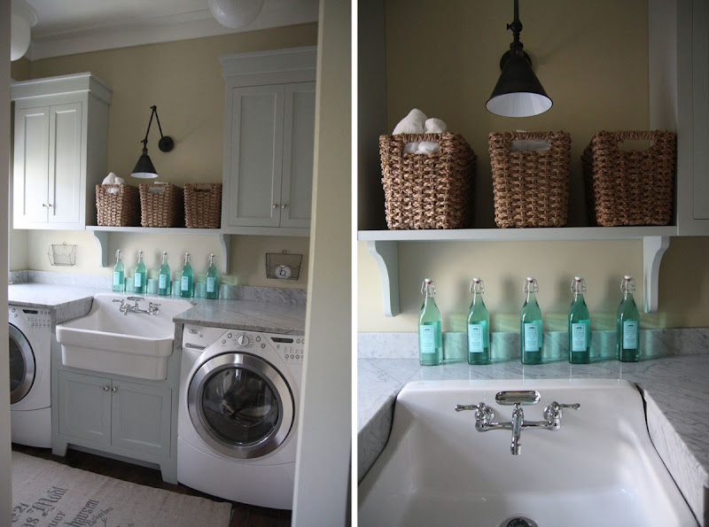This Urban Grace laundry room was our jumping off , both my husband  title=