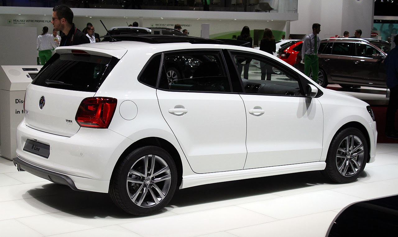volkswagen polo tsi r line geneva 2014 photos latest auto design. Black Bedroom Furniture Sets. Home Design Ideas