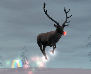 Real Flying Reindeer Images & Pictures - Becuo