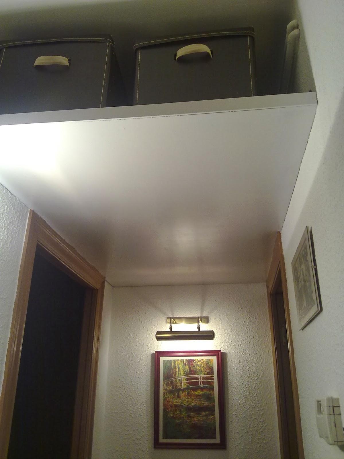 Lascosasdepat un altillo en el pasillo - Construir altillo ...