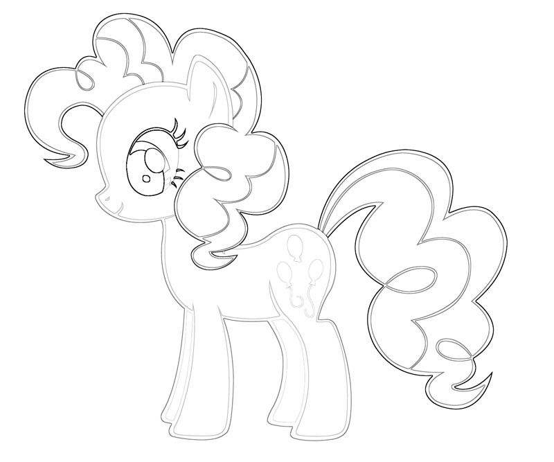 My Little Pony Pinkie Pie Coloring Pages My Pony Coloring Pages Pinkie Pie