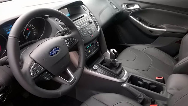 Novo Focus 2016 SE 1.6 MT - interior