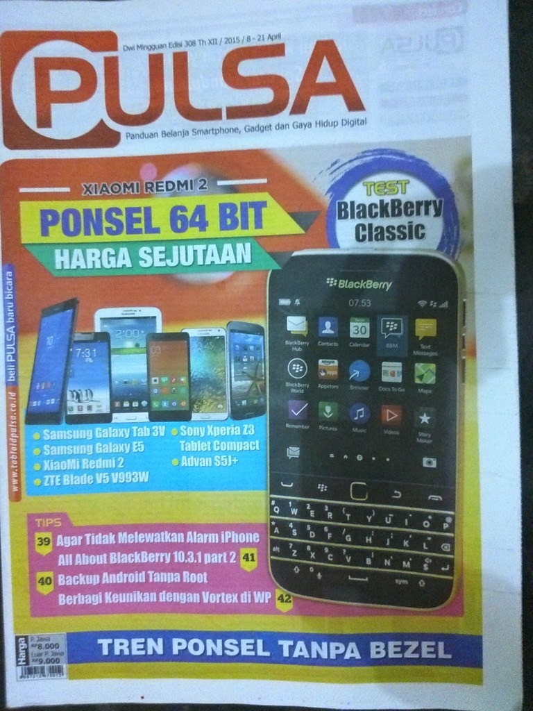 Download Tabloid Pulsa Edisi 308 Terbaru 2015
