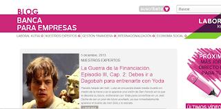 Banca para Empresas - Mejor Blog de Empresa de los Buber 2013