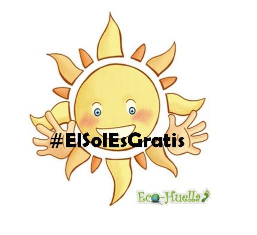 #ElSolEsGratis