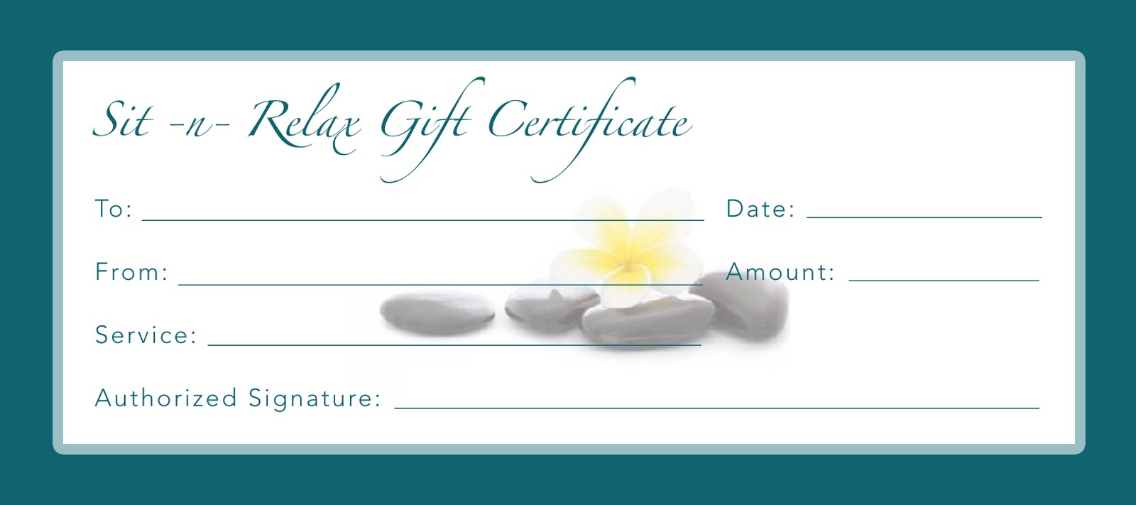 Stunning Gift Certificate Cards For Businesses Pictures Inspiration ...