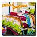 Sprei Snoopy Woodstock Handmade