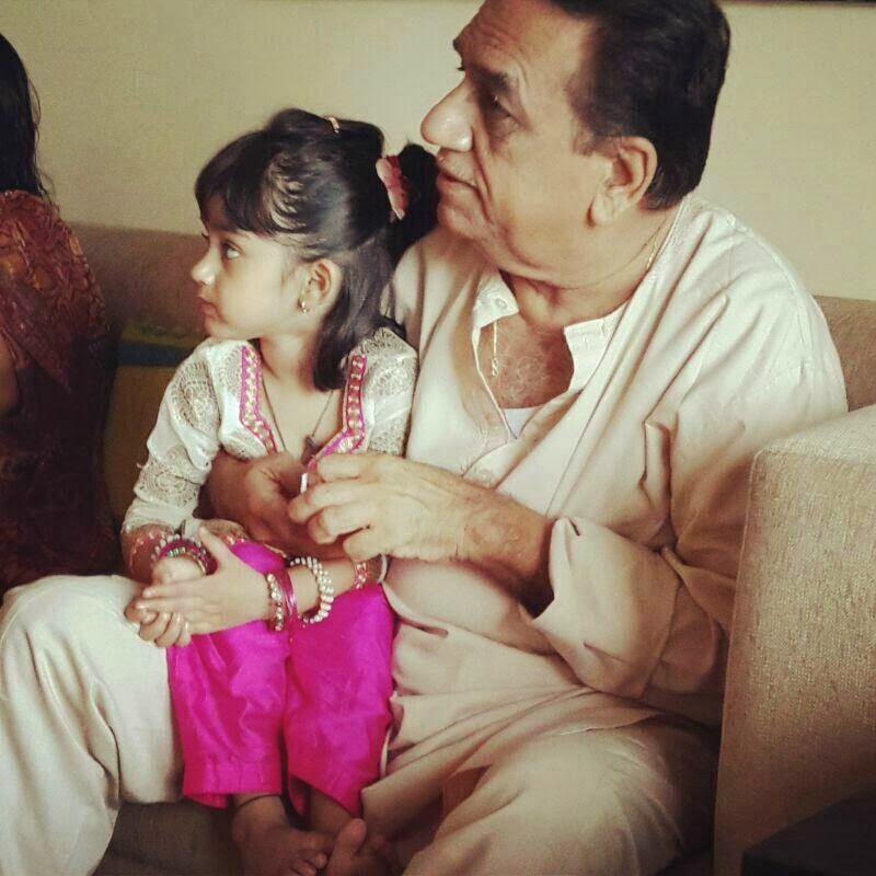 Manish paul daughter