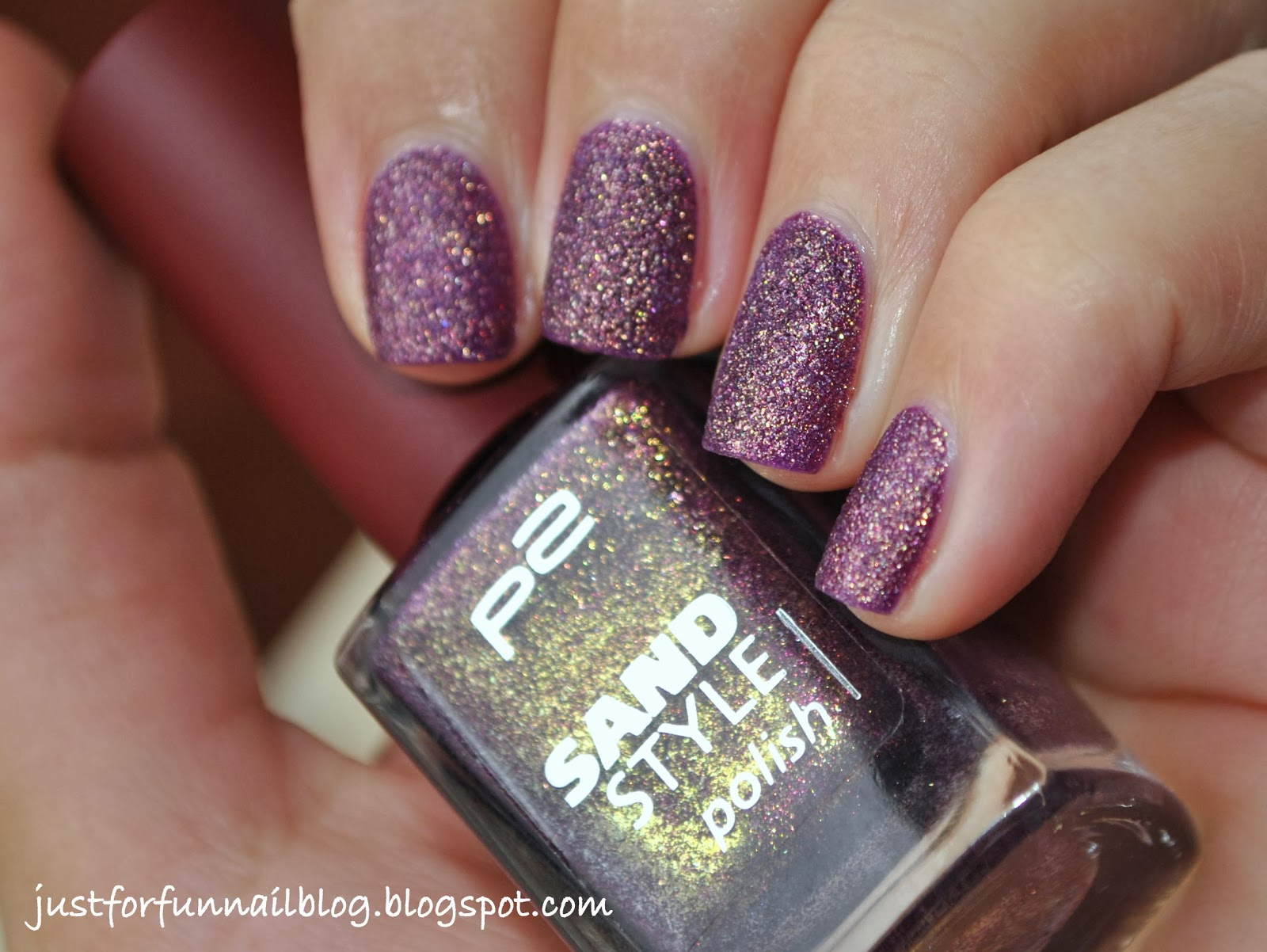 P2 - Sand Style Polish - 030 Seductive swatch