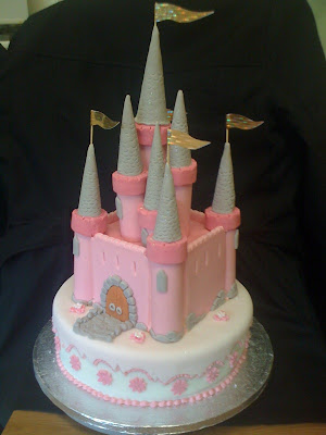 Fairy Birthday Cake on Custom Cake Art  How To Make A Fairy Tale Castle Birthday Cake