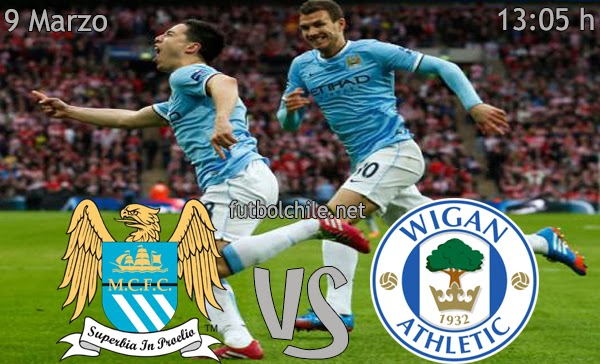 Manchester City vs Wigan - FA Cup - 12:05 h - 09/03/2014