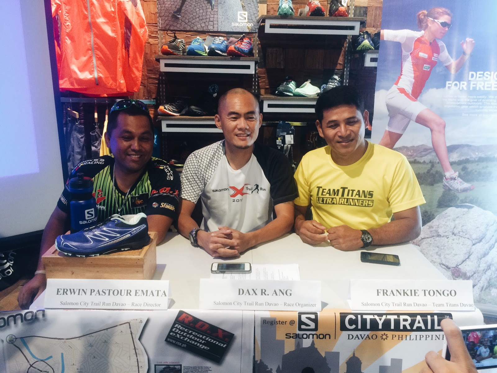 SALOMON City Trail Run Davao 2016
