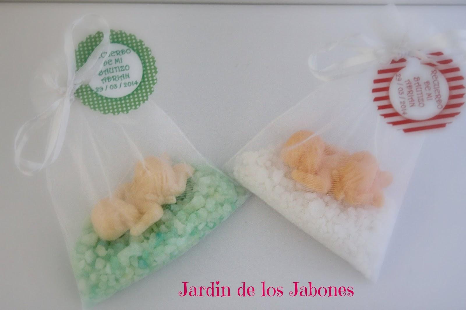 Baño Jardin De Infantes:La mitad de los bebes iban en bolsa de organza con sales de baño, el
