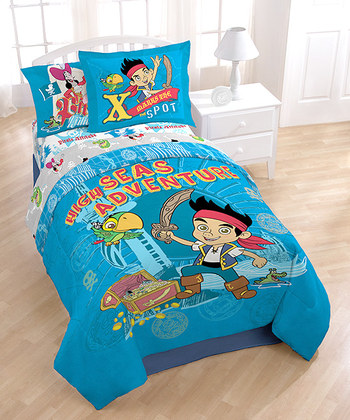 New Princess Sofia Comforter Set Disney Junior Jake Neverland Pirates Peter Pan Captain Hook