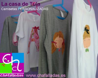 camisetas personalizadas en Chafalladas