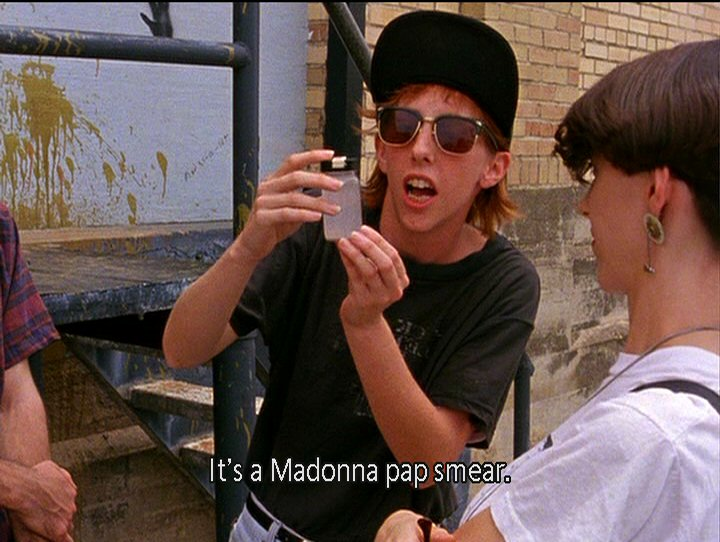 The Madonna Pap Smear scene is probably the funniest and most widely remembered of the films roughly 20 different vignettes.