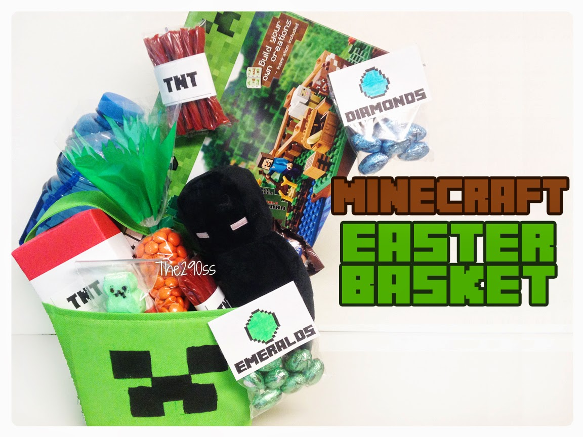 The290ss minecraft easter basket ideas minecraft easter basket ideas easter baskets are a new things for me i never received one as a kid so when i moved to this country and has my son i negle Choice Image