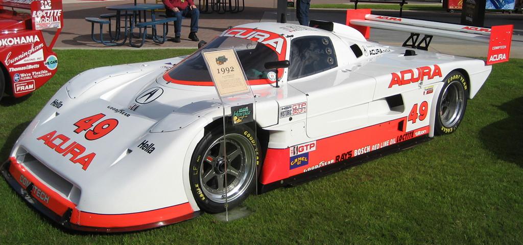 Acura NSX Comptech Spice wyścigi racing IMSA