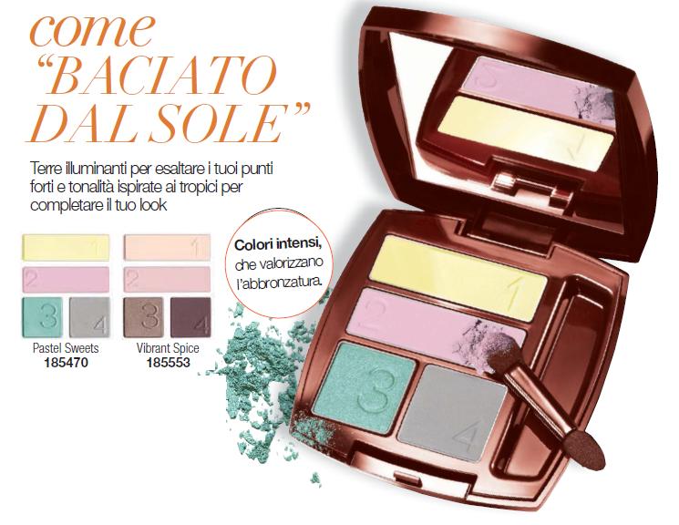 AVON GLOW PALETTE OMBRETTO 4 TONALITA COLORE SEMPREVERO - Acquisti Avon Online