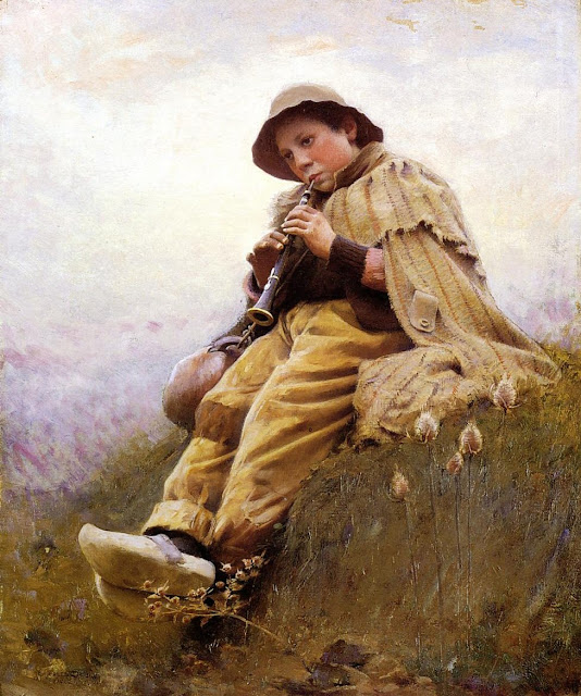 Charles Sprague Pearce: A Shepherd Boy