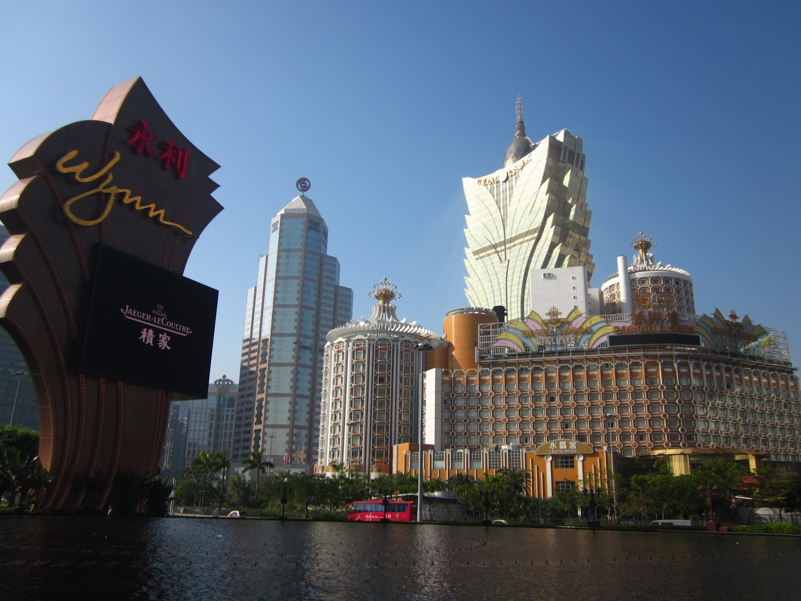 where was the macau casino in skyfall