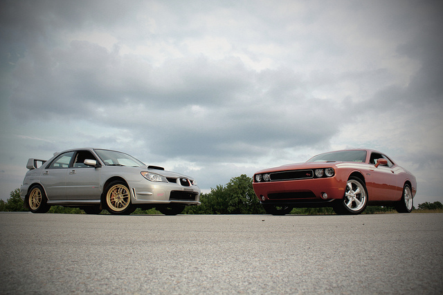 Modern American Muscle Cars Muscle Vs Import