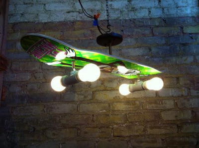 Manualidad : Lámpara para Skaters