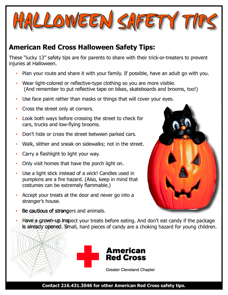 The Story Of Three: Halloween Safety Tips