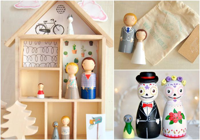 regalos bonitos originales figuras madera