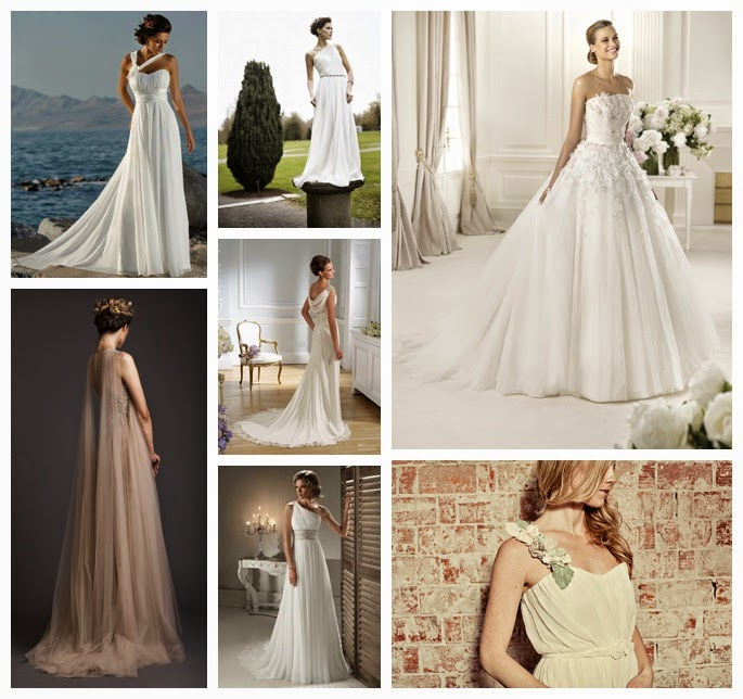 Brides Dress The Image That Comes To Mind Is A Bride Who Looks Almost Like Greek Statue Muse Beautiful Goddess