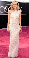 Лара Спенсър на Оскари 2013 в асиметрична блестяща рокля