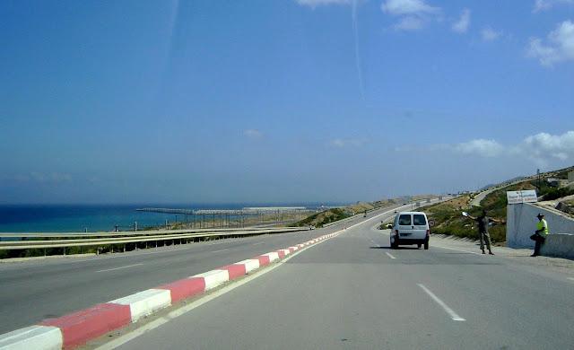 Okolice portu Tanger Med | Maroko