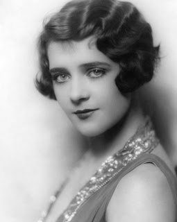 Vintage black and white photo of Ruby Keeler.