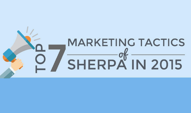 Top 7 Marketing Tactics (so far) At Sherpa in 2015
