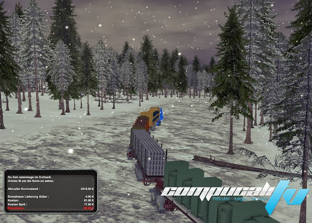 Arctic Trucker The Simulator PC Full