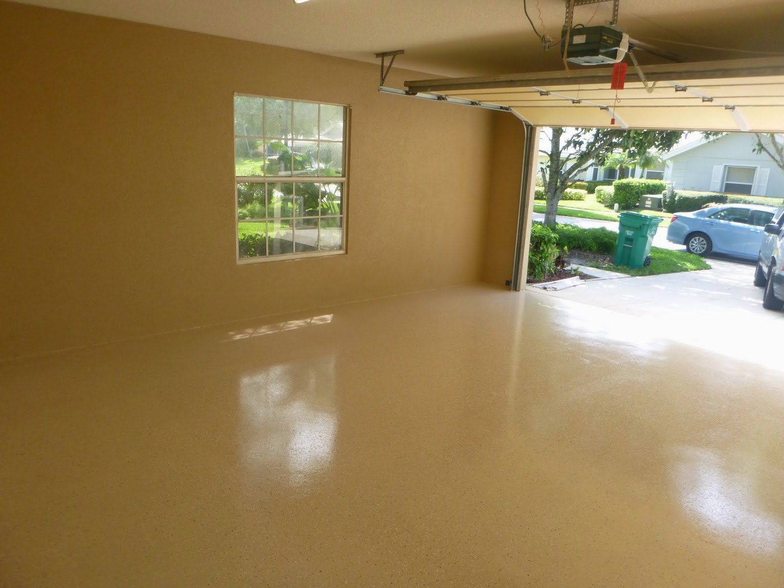 Painter of port st lucie florida 772 801 9711 garage for Boden epoxidharz