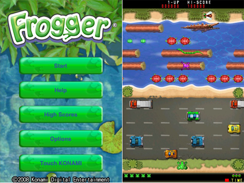 Game Frogger