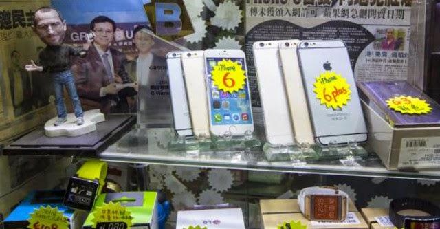 Buôn lậu iPhone gia tăng do chậm ra mắt tại Trung Quốc