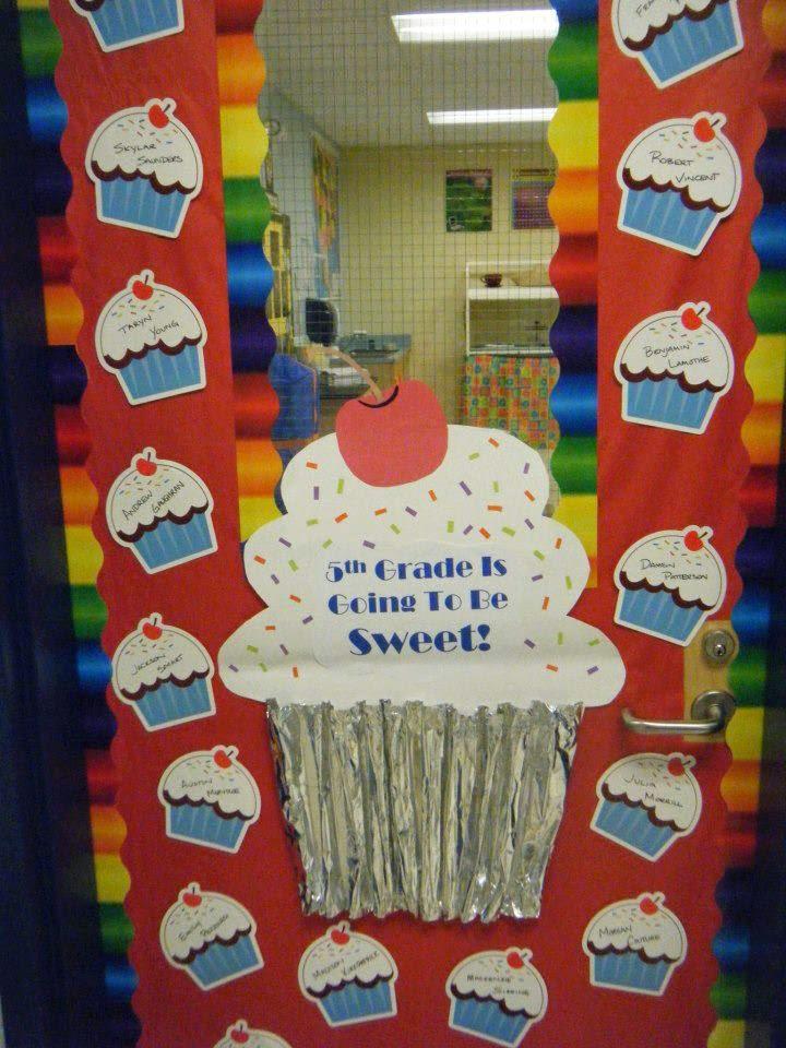 Falando da educa o ideias de portas decoradas para sala for Idea door primary 2014