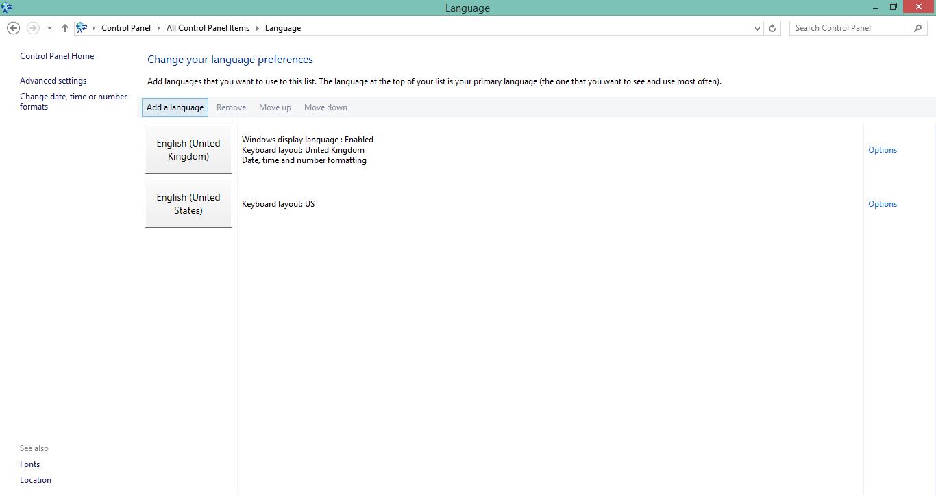 Cara Menambahkan Bahasa Language Di Windows 8 Graphic